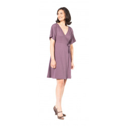 SummerSkin The Wrap Dress Lavender