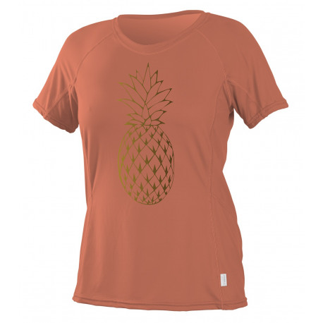O'Neill Dames UV shirt Graphic korte mouw Coral Punch