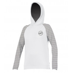 O'Neill Dames UV werende Hoodie lange mouw White