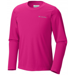 Columbia Junior UV shirt Long Sleeve Pink