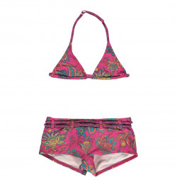 O'Neill Girls Shorty Bikini Paisley Red AOP