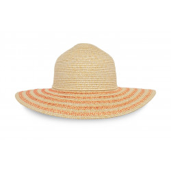 Sunday Afternoons Sun Haven Hat Natural, Coral Blend