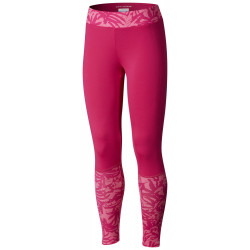 Columbia Youth Girls Trulli Trails Printed Legging Haute Pink