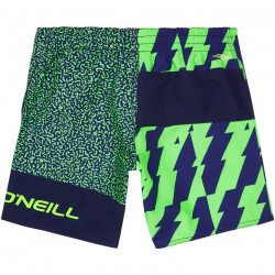 O'Neill Boys Qoncrete Shorts Green AOP