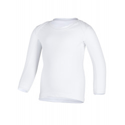 Hyphen Basic UV Shellshirt Lange mouw White