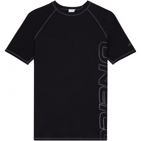 O'Neill Heren UV Shirt Logo Korte Mouw Black