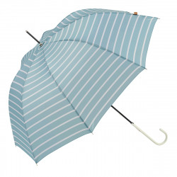 Ezpeleta UPF50 UV Ladies Parasol Gestreept Blue / White