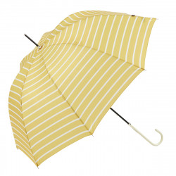 Ezpeleta UPF50 UV Ladies Parasol Gestreept Yellow / White