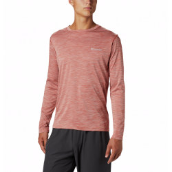 Columbia Heren Zero Rules Longe Sleeve Carnelian Red