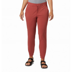 Columbia Dames UV Broek Firwood Camp Dusty Crimson