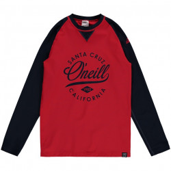 O'Neill Boys UV Shirt Lange Mouw Aurora Red