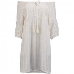 O'Neill Dames Aftersun Beach Cover Up BOHO White