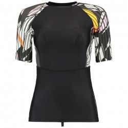 O'Neill Dames UV Shirt Korte Mouw Multi