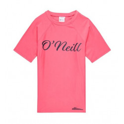 O'Neill Girls UV Shirt Korte Mouw Pink Lemonade