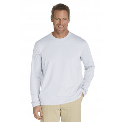 Coolibar - UV Longsleeve shirt heren - wit