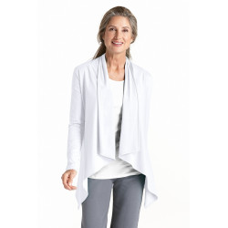 Coolibar - UV Werend vest dames - wit