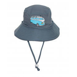 Rigon - UV bucket hat voor kinderen - Blue combi bus
