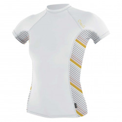 O'Neill - UV-shirt voor dames met korte mouwen - Rash Guard - Wit