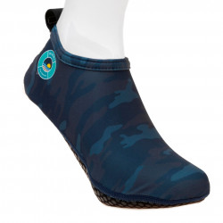 Duukies - Heren UV-strandsokken - Mens Army Blue - Donkerblauw