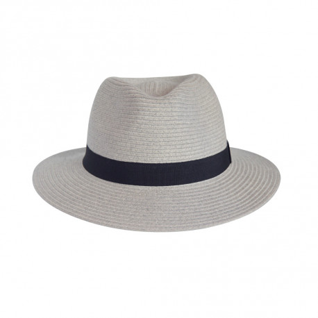 House of Ord | Zonnehoed  Pana-Mate Fedora Light Grey