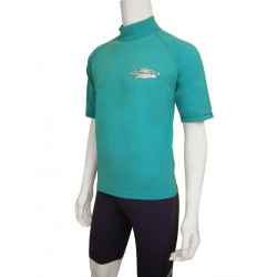 Stingray heren of dames UV surf shirt korte mouwen- Topaas