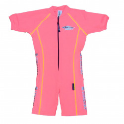 Stingray baby of kinder zwempak sunsuit korte mouwen sport- roze