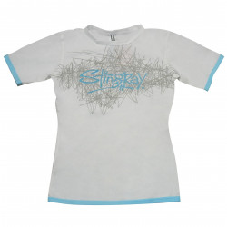 Stingray dames UV surf shirt korte mouwen- wit